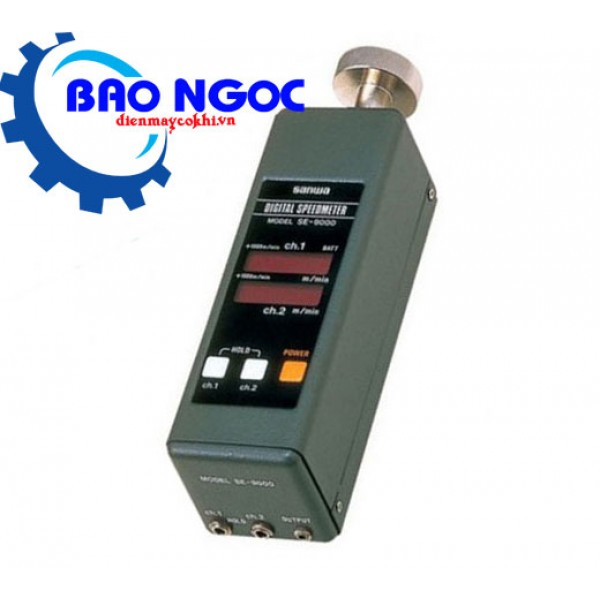 Máy đo tốc độ vòng quay không tiếp xúc Sanwa SE9000