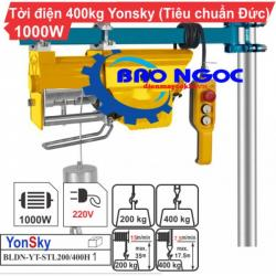Máy tời điện BLDN-YT-STL200/400