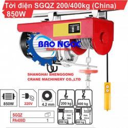 Máy tời điện SGQZ PA 400