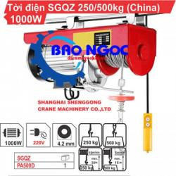 Máy tời điện SGQZ PA 500