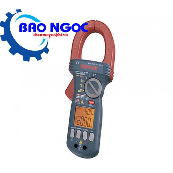 Ampe kìm chỉ thị số Sanwa DCM2000DR + Calibration 3 Documents Set