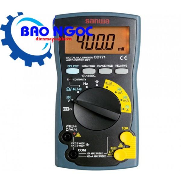 Đồng hồ đo vạn năng số Sanwa CD771