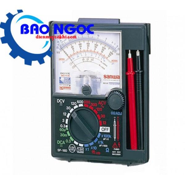 Đồng hồ vạn năng chỉ thị kim Sanwa SP18D