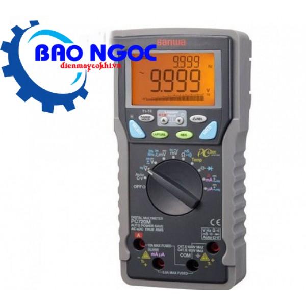Đồng hồ vạn năng Sanwa PC720M (Kết nối PC,True RMS,±(0.06%+2)