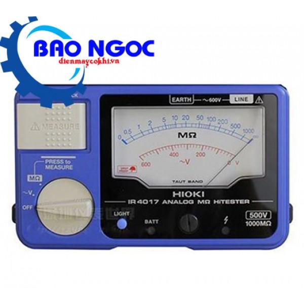 Đồng hồ đo điện trở cách điện Hioki IR4017-20
