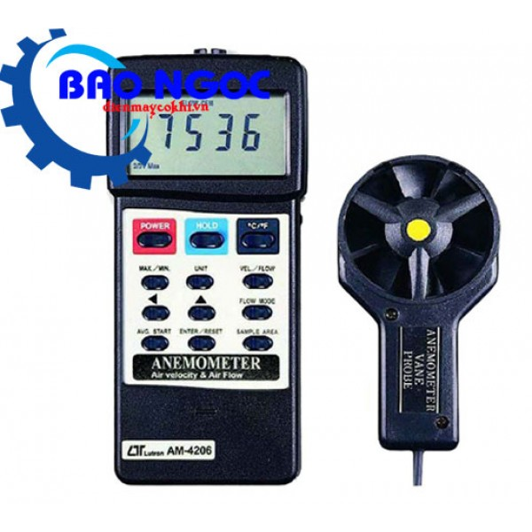 Máy đo tốc độ gió Lutron AM-4206