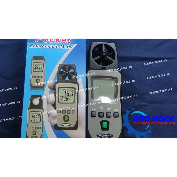 Máy đo tốc độ gió Tenmars TM-740