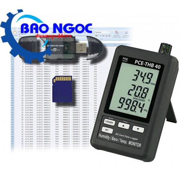 Máy đo nhiệt độ độ ẩm PCE-THB40