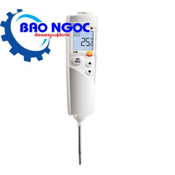 Máy đo nhiệt độ thực phẩm Testo 106
