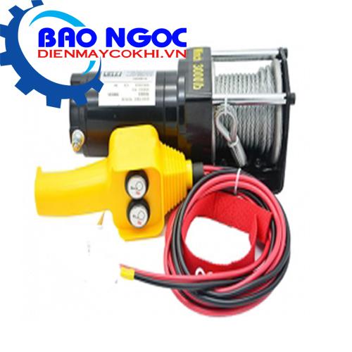 Tời điện kéo xe ATV 6000LBS -24V