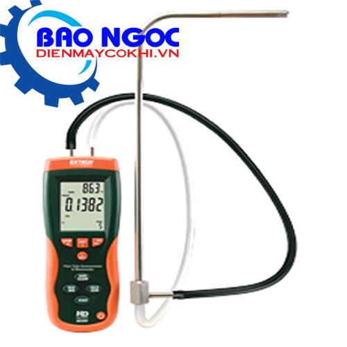 Máy đo áp suất lưu lượng khí Extech HD350